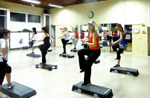 step cours AH Fitness