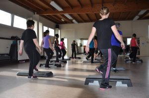Les cours - step - AHfitness