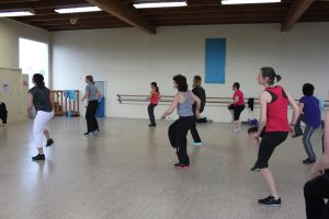 zumba cours ah fitness